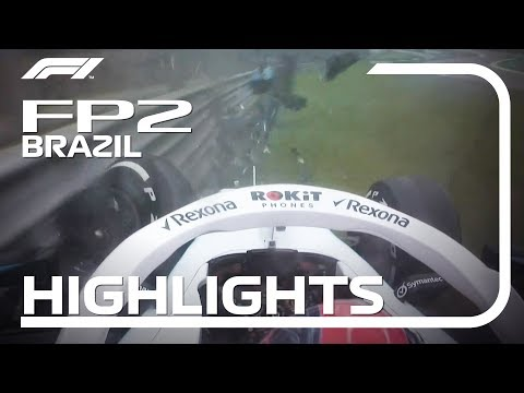 2019 Brazilian Grand Prix: FP2 Highlights