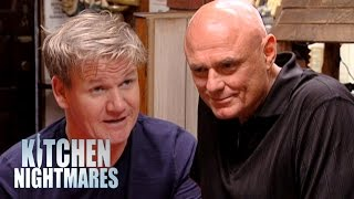 Mentally Unstable Owner Stands Up To Chef Ramsay - Kitchen Nightmares