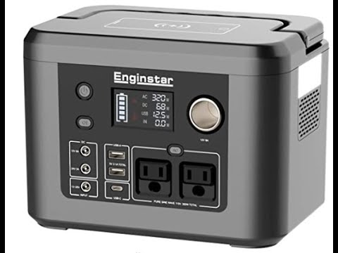 Enginstar R350 Portable Power Station/350W Power Pack Initial Test and Review!