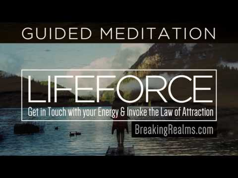 Guided Meditation: Invoke The Law of Attraction [LifeForce]