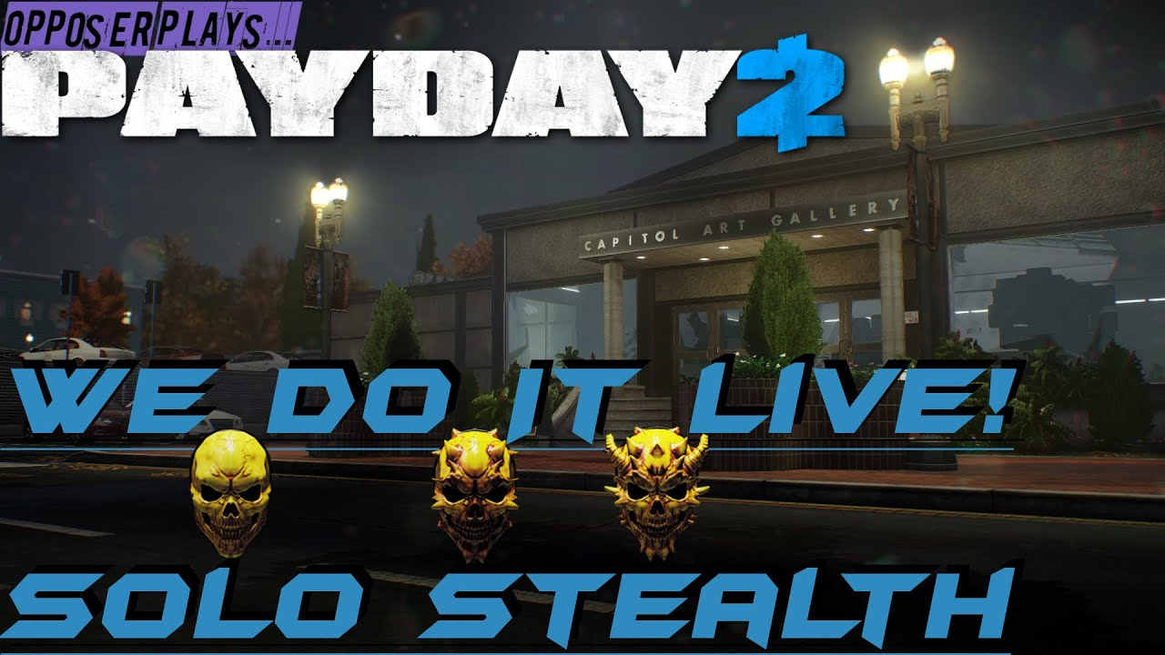 PAYDAY 2 - We Do It Live Achievement SOLO Framing Frame Overkill ...