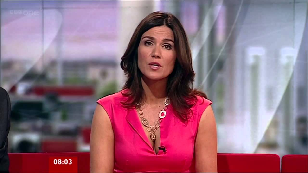 Susanna Reid Ravishing Open Cleavage Pretty In Pink 09 Sep