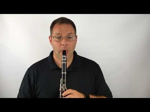 Clarinet: Mary Had A Little Lamb, 80 bpm on the Metronome