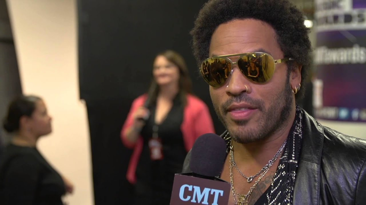 2013 CMT Music Awards - Lenny Kravitz Backstage Interview Presented by Dove