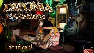 Deponia Doomsday Lachflash [Twitch Gameplay Let's Play Deutsch German] thumbnail