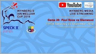 #IMC2018 Game 28: Paul Roos vs Glenwood