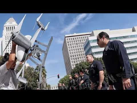 LAPD Becomes Nation's Largest Police Department to Test Drones; Some Residents Wary