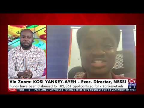 Disbursement of GH2bn stimulus package and its impact on business -    UPfront on Joy News (6-8-20)