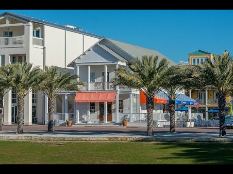 "Seaside Florida 3BR Gulf View Vacation Rental Home - ""Center Stage"" - 63 Central Sqare"