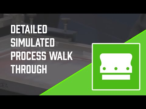 How to Screen Print - Simulated Process - Detailed instruction - Screen Printing 101 DVD pt 34