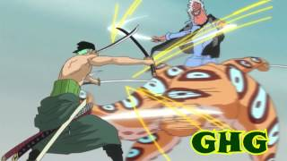 One Piece AMV Roronoa Zoro vs  Random Gyogin & Hyouzou (We´re all to  Blame Sum 41) Complete Fight