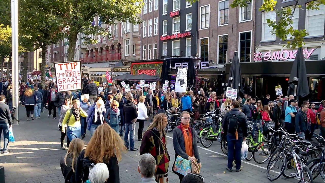 Ttip demonstration amsterdam ttip demonstratie amsterdam for Demonstratie amsterdam