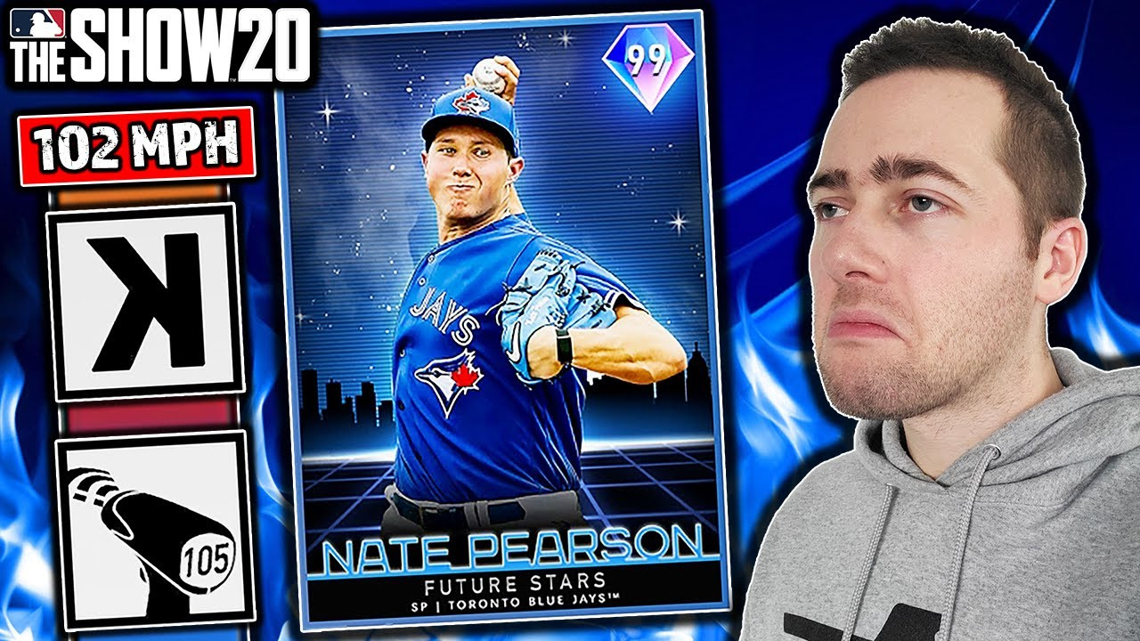99 NATE PEARSON HAS BEEN UNLOCKED...MLB THE SHOW 20 DIAMOND DYNASTY