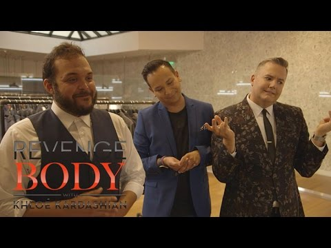 Salvador Camarena & Ross Mathews Revamp Will's Style | Revenge Body With Khloé Kardashian | E!