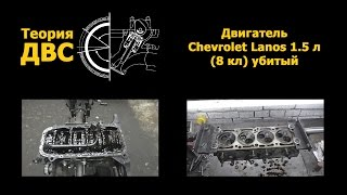 Теория ДВС: Двигатель Chevrolet Lanos 1.5 л (8 кл) (убитый)(ГБЦ Lanos 1.5 8 кл: https://www.youtube.com/watch?v=hW2ZpoUtP7g., 2015-02-06T22:39:38.000Z)