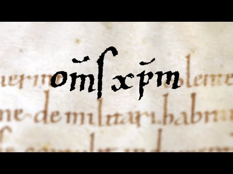 Abkürzungen in mittelalterlichen Handschriften - Mittelalterliche-Geschichte.de
