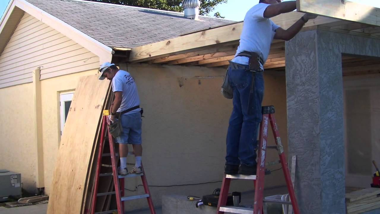 Room addition add a room to your house remodel renovate your home youtube Build your home