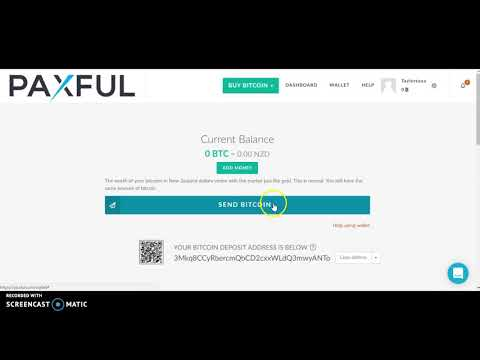 Paxful Send Bitcoin