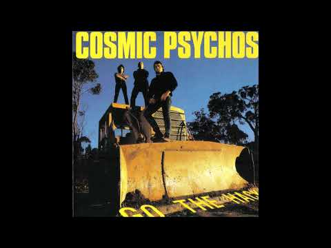 Cosmic Psychos  –  Out Of The Band  (1989)