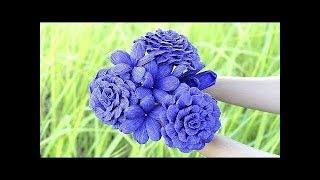 Бумажные Цветы Своими Руками (Очень Легко) Оригами Цветы Как Сделать Цветы Своими Руками