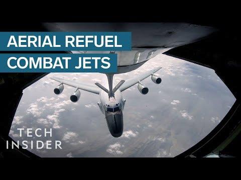 How Combat Jets Refuel In Midair