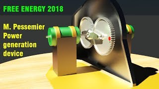 FREE ENERGY, Pessemier Power Generation Device, AMAZING!!!