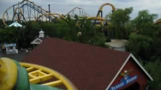 Ragin Cajun on-ride POV Six Flags Great America