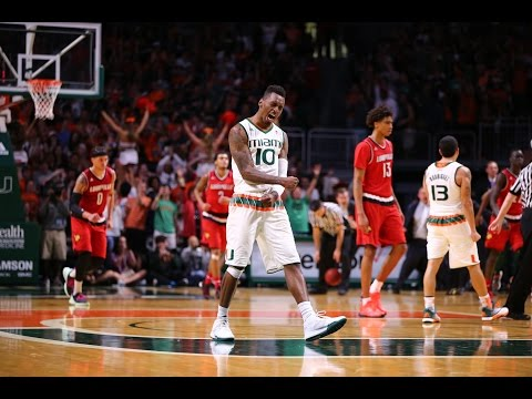 2015-16 Miami Hurricanes Basketball March Madness Pump Up