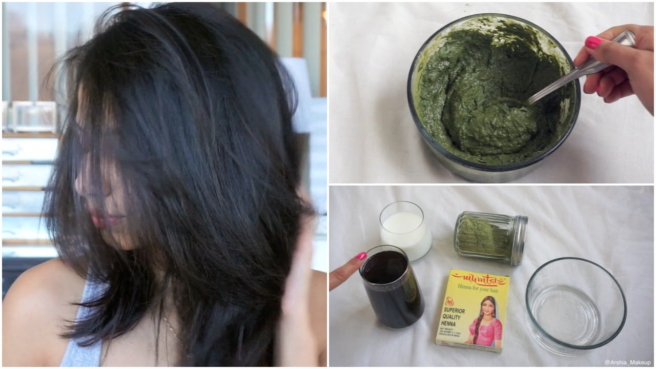 How To Apply Henna To Hair At Home Youtube