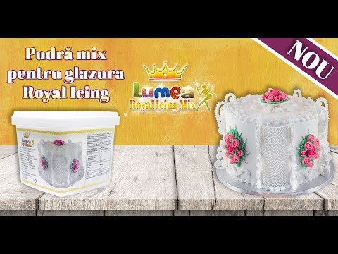 Lumea Royal Icing Mix, 500 g - Lumea Basmelor