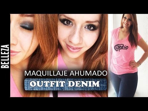 Maquillaje Ahumado y Outfit Denim (COLABORATIVO) Los290ss