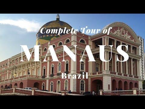Complete Tour in Manaus, Brazil (Legendas em português).