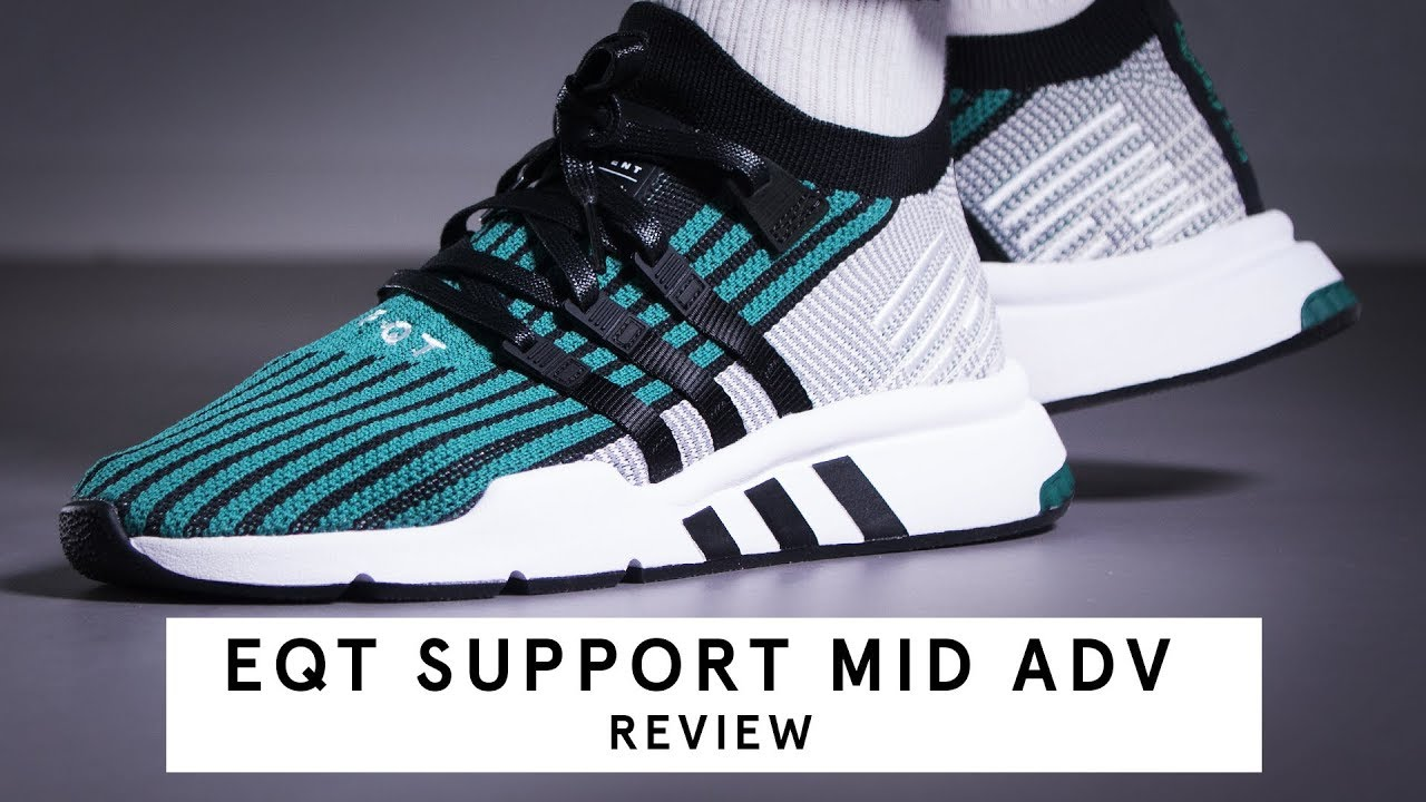 the best attitude 1b13c 9c28b Adidas EQT Support Mid ADV  Review
