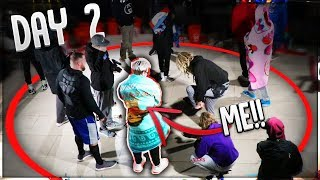 What It\'s Like INSIDE The MrBeast $100K YouTuber Standing Circle Challenge!