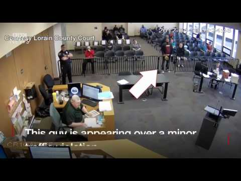 Guy Drops Cocaine in an Ohio Court Room