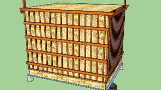 play bio komposter aus holz selber bauen anleitung in einfachen schritten. Black Bedroom Furniture Sets. Home Design Ideas