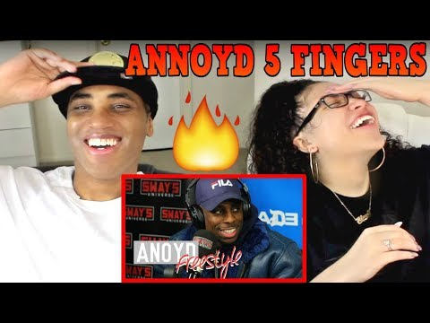 ANoyd Bodies The 5 Fingers of Death Freestyle REACTION   MY DAD REACTS