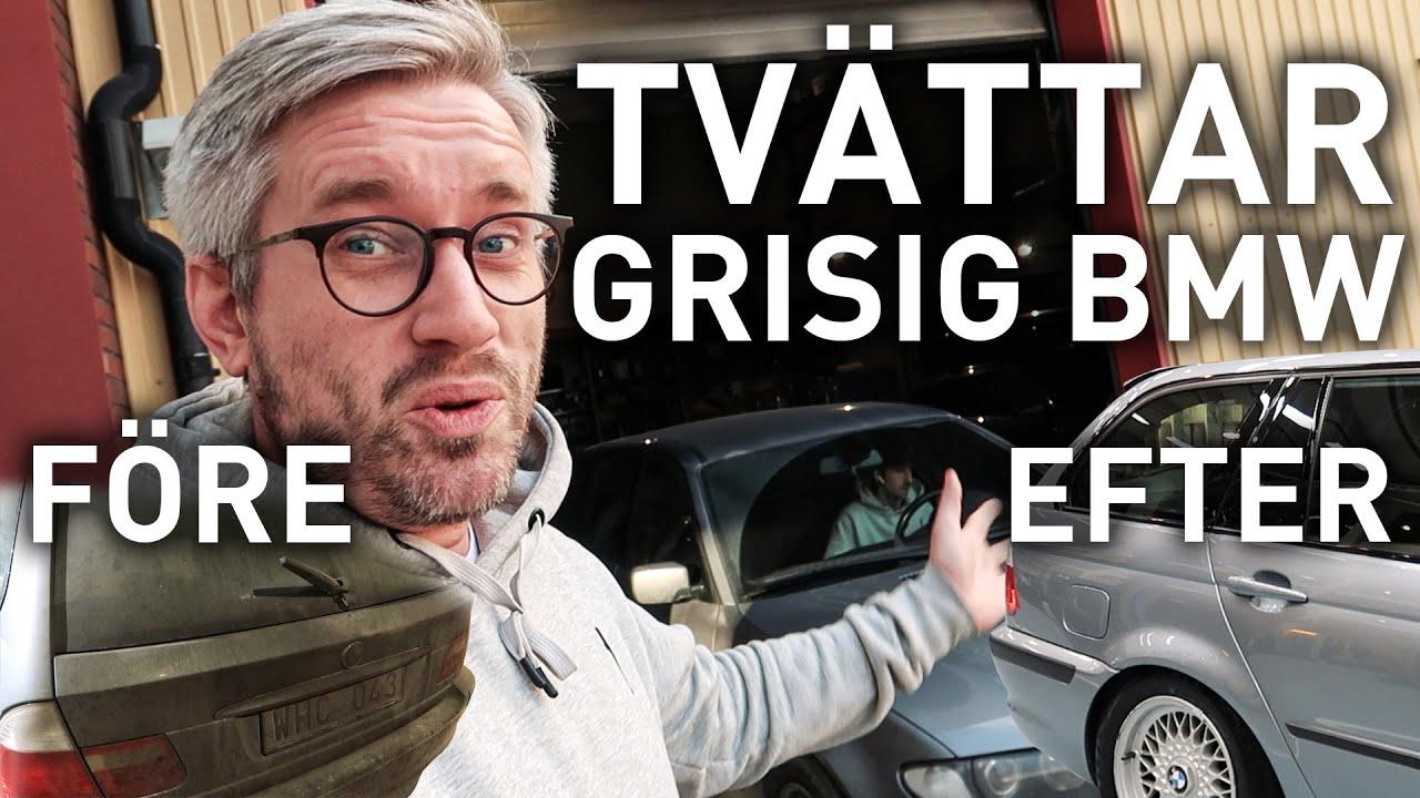 FIXAR GLANS PÅ EN GRISIG BMW - YouTube