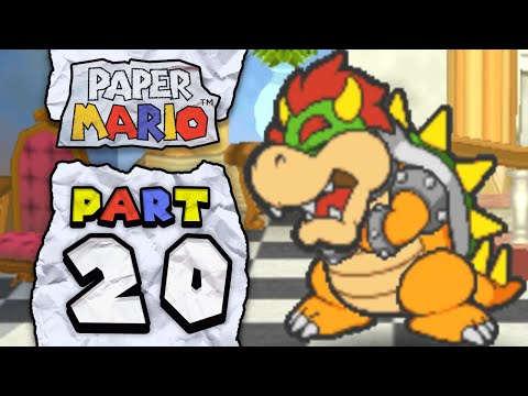 Paper Mario: Part 20 - The Mischief in Toad Town!