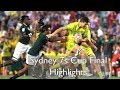Australia v South Africa - Sydney 7s 