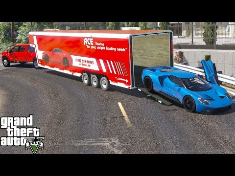GTA 5 Real Life Mod #168 Ford Dealership Delivering A $400,000 Ford GT To A Customer