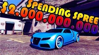 $2,000,000,000 Spending Spree   GTA V Next Gen Story Mode   The Setup