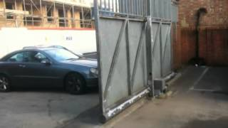 Electric Metal Sliding Gate Opening By Parkers Fencing