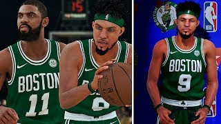 KYRIE IRVING DOMINATES LEBRON JAMES! 1st NBA Game Cavs Vs Celtics Opener NBA 2k18 MyCareer Ep3