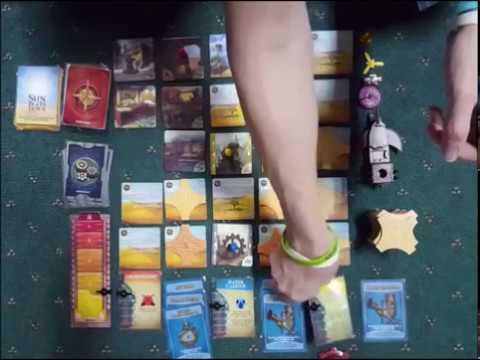 Board Game Playthrough Ep02 - Forbidden Desert