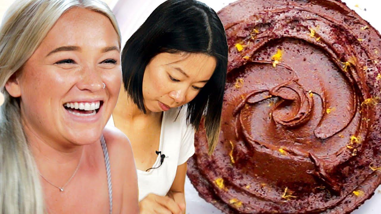 We Tried To Make A Zero Waste Chocolate Cake • Goodful