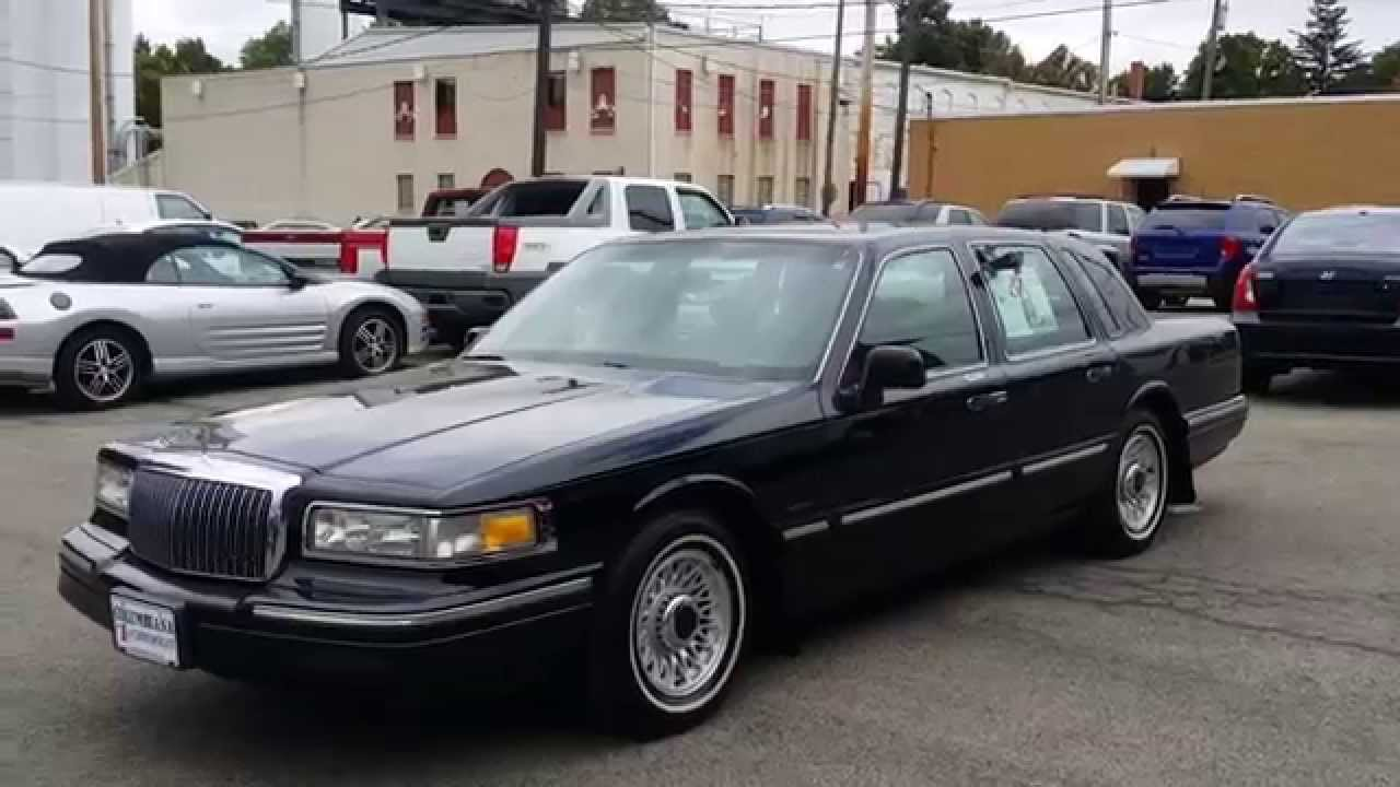 Lincoln Town Car Lowrider For Sale
