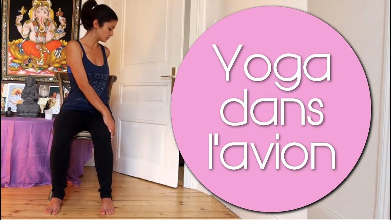 cours de yoga dans les transports yoga sur chaise youtube. Black Bedroom Furniture Sets. Home Design Ideas