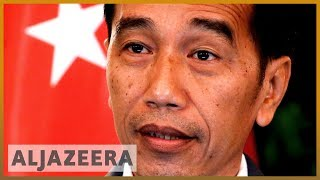 Gambar cover Indonesia's President Joko Widodo sworn in for final term