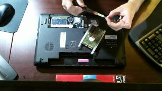 How To Replace Hard Drive Acer Aspire 5742z